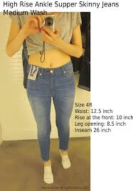 Abercrombie And Fitch Jeans Fit Size Guide I Compared The