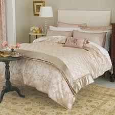 super kingsize duvet cover vintage pink jacquard bedding set bedeck home