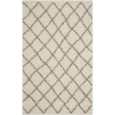 safavieh dallas 5 1 x 7 6 runner area rug ivory rugs carpets best canada