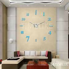 china large luxury diy 3d wall clock home decor bell cool mirror stickers art watch china home decor home decoration