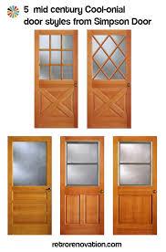 front door styles. Colonial-mid-century-doors Front Door Styles