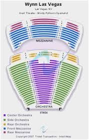 Experienced Wynn Seating Chart Le Reve Dream Seating Wynn