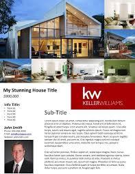 Free Real Estate Flyer Templates Broker Real Estate Real Estate