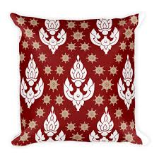 Accents Home Decor And Gifts 100x100 Philippine Fabric Design Square PillowHome AccentHome 94
