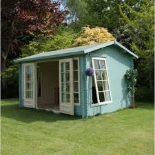 home office cabin. mercia home office director log cabin 4m x 3m not supplied painted