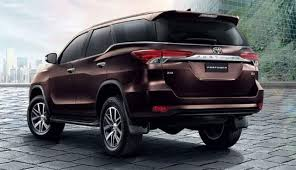 2018 toyota models. 2018 toyota fortuner rear models o
