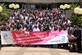 Image result for 2011 youth leadership summit in Nairobi
