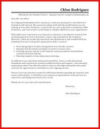 Cover Letter Presentation Apa Example