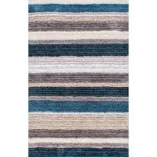 don blue multi 6 ft x 9 ft area rug