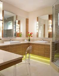 corner lighting. View In Gallery Under-cabinet Lighting For A Bathroom Corner B
