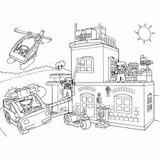 25 Printen Lego Brandweer Filmpjes Kleurplaat Mandala Kleurplaat