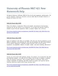 university of phoenix mkt new homework help university of phoenix mkt 421 new homework help get help for university of phoenix mkt 421