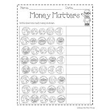 Penny And Nickel Worksheets For Kindergarten Free Coin Counting ...