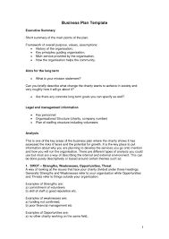 Business Plan Summary Template Financials Uk Executive Format ...