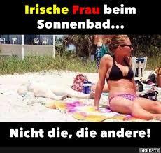 Irische Frau Bei Sonnenbad Lustige Bilder Sprüche Witze Echt