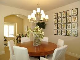 wall decor ideas for formal dining room