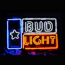neon lighting for home. Bud Light Neon Art Signs For Home Sign Beer Pub Recreation Lighting