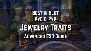 best in slot jewelry traits guide pve pvp eso summerset