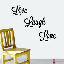 live laugh love wall decal together with laugh vinyl wall art decal live laugh love wall
