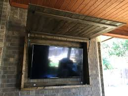 33 extravagant outdoor tv stand ideas outside cabinet amazing enclosure case television wall mounted flat
