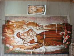 Картина панно рисунок Мастер класс Ткачество ручное Ручное  Картина панно рисунок Мастер класс Ткачество ручное Ручное ткачество Гобелен Авторская дипломная работа Материнство