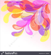 Design Droplets Templates Bright Droplets Design Stock Illustration