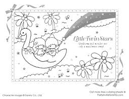 Small Picture little twin star coloring pages 2 Coloring Pages Cute