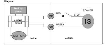 pcs motorized ball valve g rdquo dn way vdc cr electrical cr04 wiring diagram power off return
