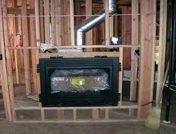 ventless gas fireplace installation b vent gas fireplaces direct vent gas fireplace installation basement vent free
