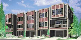fv 560 modern style five unit row house w owners units