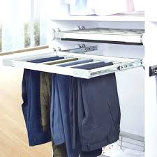 pull out pant rack
