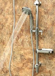 pulse shower head pulse aqua rain shower system in brushed nickel waterpik power pulse combo shower