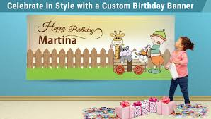 custom happy birthday banner celebrate in style with a custom happy birthday banner