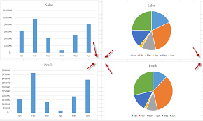 To Resize An Embedded Chart How To Line Up Your Excel Worksheet Embedded Charts Excel