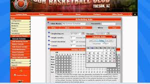 Sports Scheduling Software Sports League Scheduling