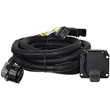 amazon com bargman 54701003 90° fifth wheel adapter harness curt 56001 custom wiring harness extension