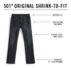 Cabelas Sizing Chart Levis Mens Jeans Fit Guide