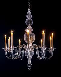 10 light early 18th century style chandelier