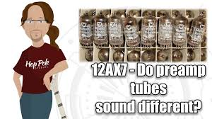 12ax7 Do Different Preamp Tubes Make A Sonic Difference From Behringer To Mullard