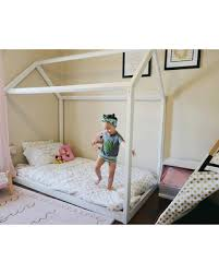 Get the Deal: Twin Size House Bed or Full Size House Bed Montessori ...
