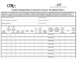 Free Contractor Invoice Vendor Independent Contractor Invoice ...