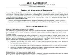 Outstanding Resume Examples