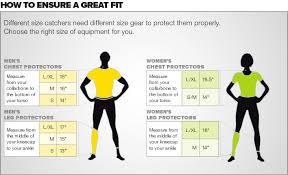 Mizuno Knee Pad Size Chart Mizuno Samurai Adult Chest Protector G2 380157