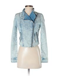 pin it forever 21 women denim jacket size xs