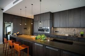 dark wood modern kitchen cabinets. 105 Interior Design Ideas For The Kitchen In Different Styles : Modern Dark Wood Cabinets O