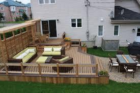 simple wood patio designs. Deck Patio Ideas Simple Wood Designs