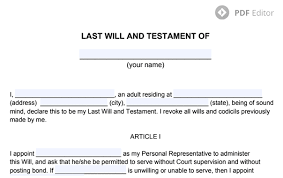 how do i write a will for free last will and testament form free last will template movavi