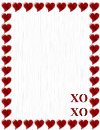 Stationery Letterhead Amazon Com New Xoxo Red Hearts Stationery Letterhead Paper