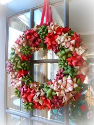 Bow Christmas Wreath