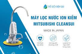 Máy lọc nước ion kiềm Mitsubishi chính hãng Nhật Bản - Thế Giới Điện Giải
